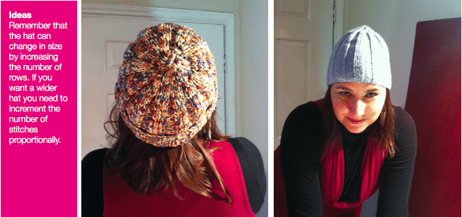 FREE Knitted Beanie Hat Instructions