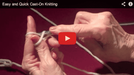 Quick and Easy Cast-On Knitting