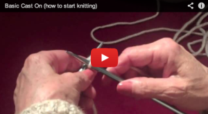 Knitting- Casting On