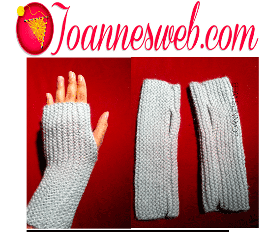 Fingerless Gloves |  A Quick and Easy Knitting Project