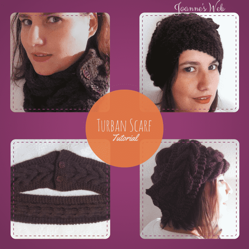 Knitted Turban Scarf  Project