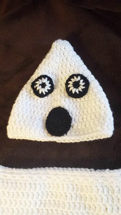 Crochet Ghost Pattern Instructions