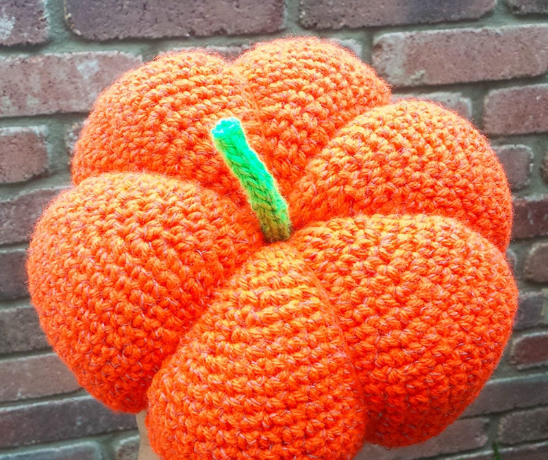 Crochet Pumpkin Crochet Pattern Instructions