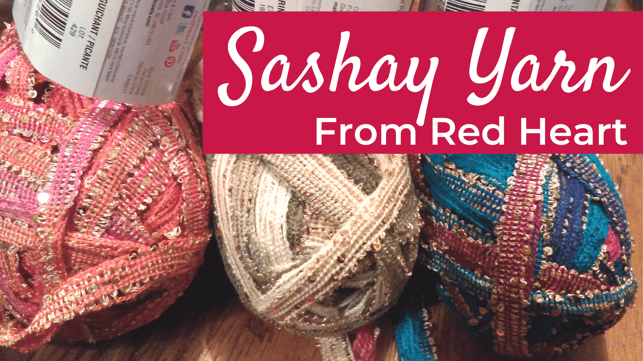 Sashay Sequins Yarn by Red Heart