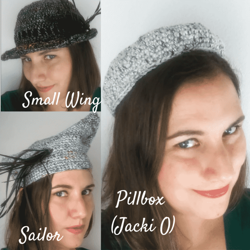 Knitted Vintage Hats Collection Patterns
