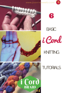 i cord knitting tutorials