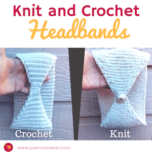 Knitted and Crocheted Headbands
