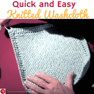 Quick and Easy Washcloth