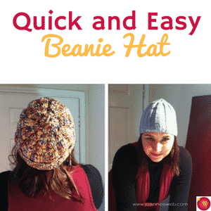 Quick and Easy Beanie Hat