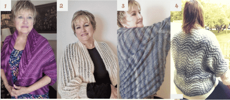 Knitted Shrugs Instructions