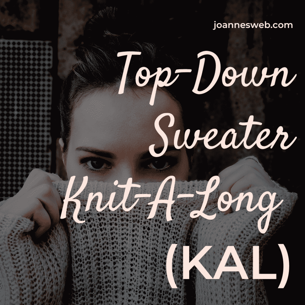 Top Down Sweater Knit-A-Long