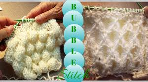 3D Bubble Knit | Tutorial