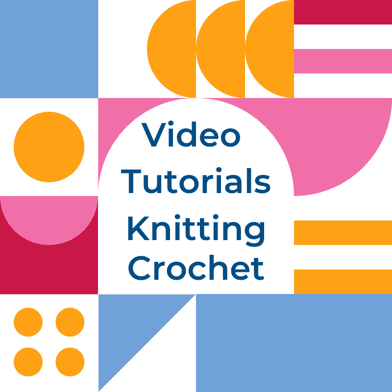Knitting and Crochet Video Tutorials