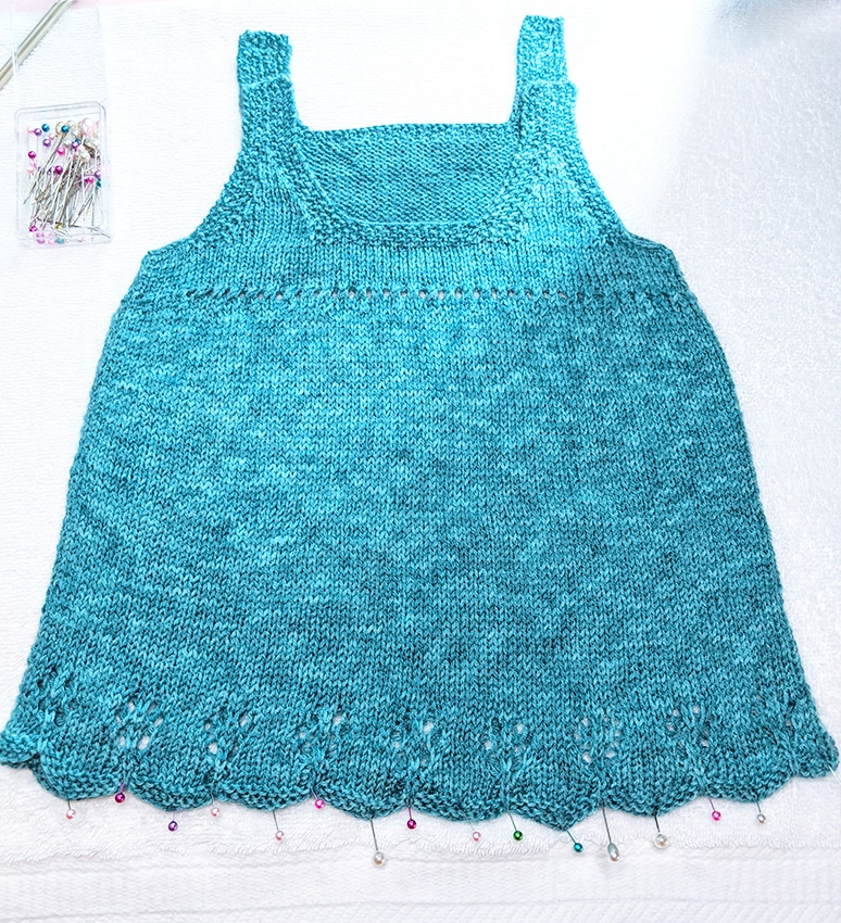 Baby Girl Jumper Dress Pattern