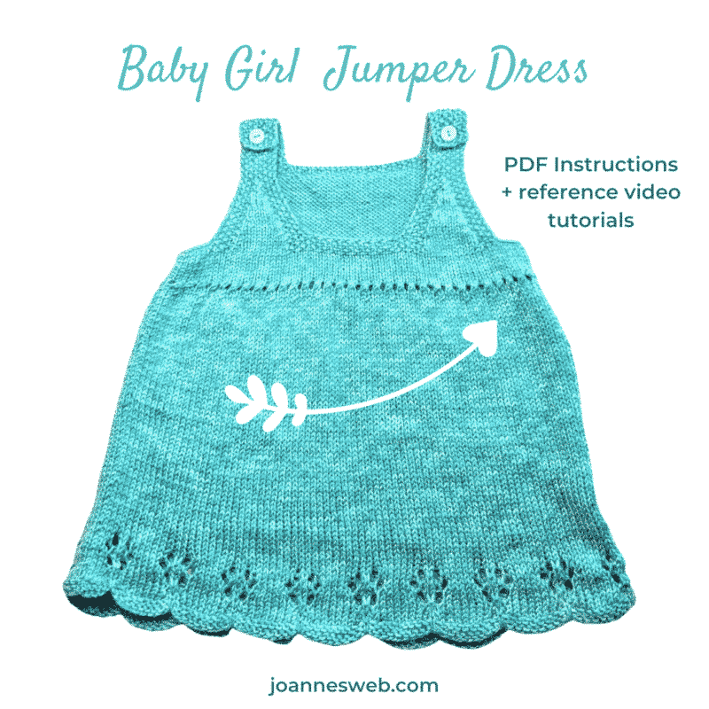 Baby Girl Jumper Dress Pattern