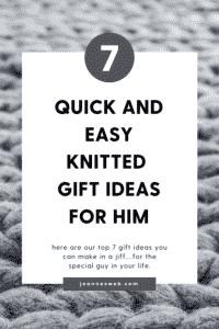 Knitting Gift Ideas for Men