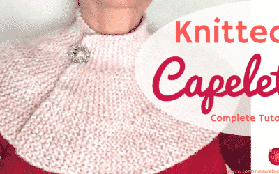How To Knit A Cape – Capelet Knitting Tutorial