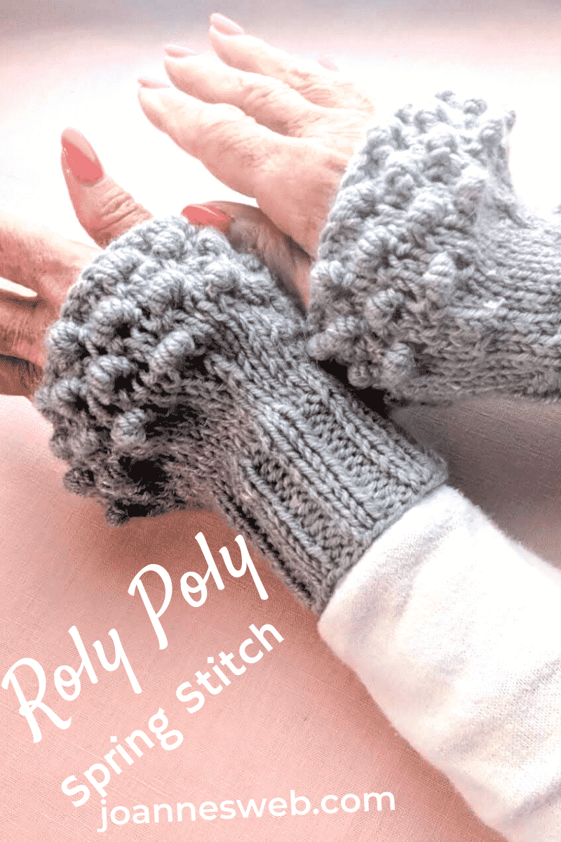 Roly Poly Spring Knitting Stitch Pattern