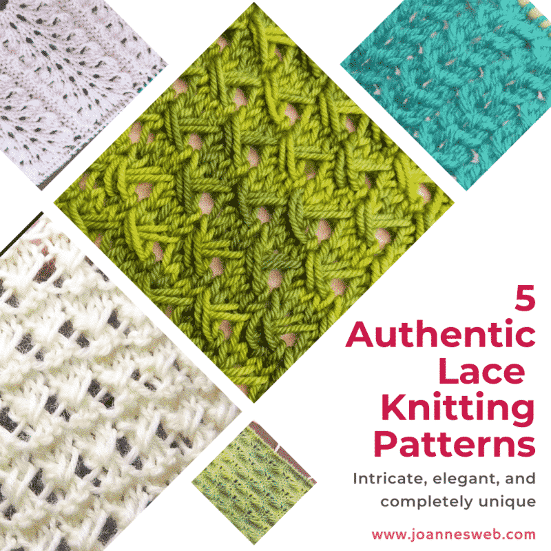 5 Authentic Lace Knitting Patterns