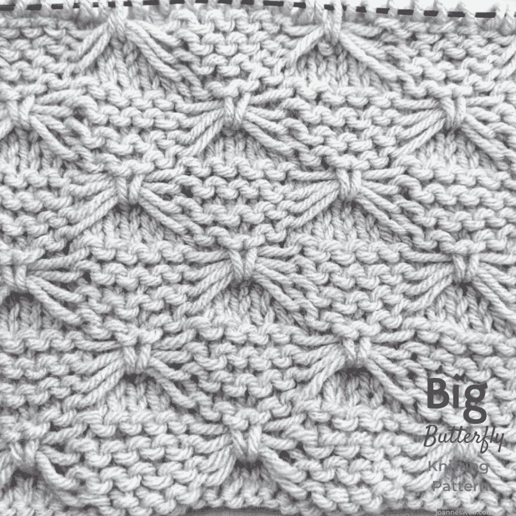 Bow Tie Knitting Stitch