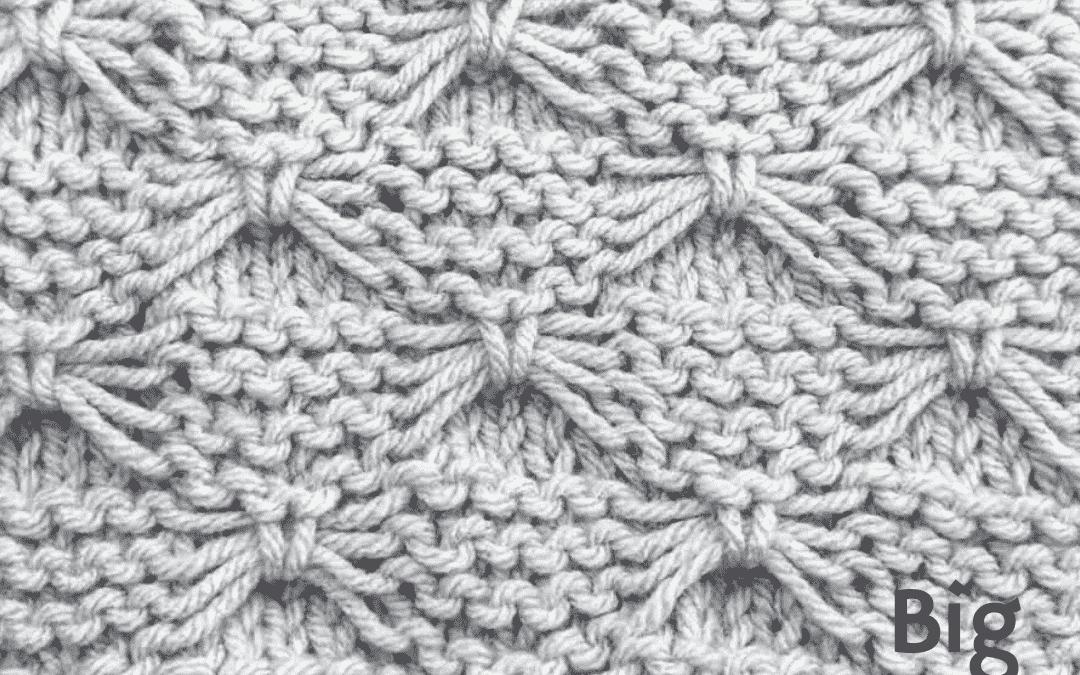 Butterfly Stitch Knitting Pattern