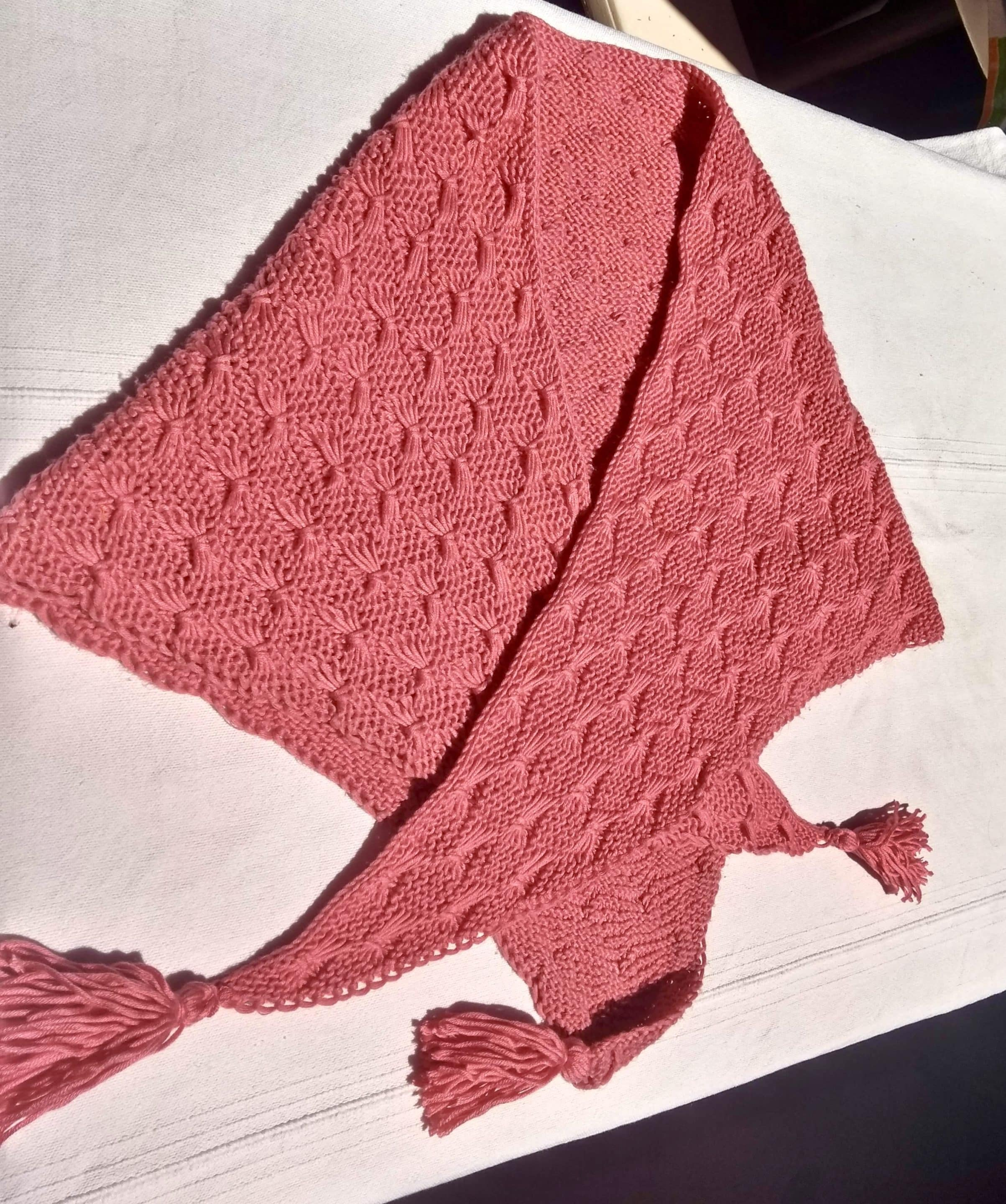 Knitted Butterfly Shawl