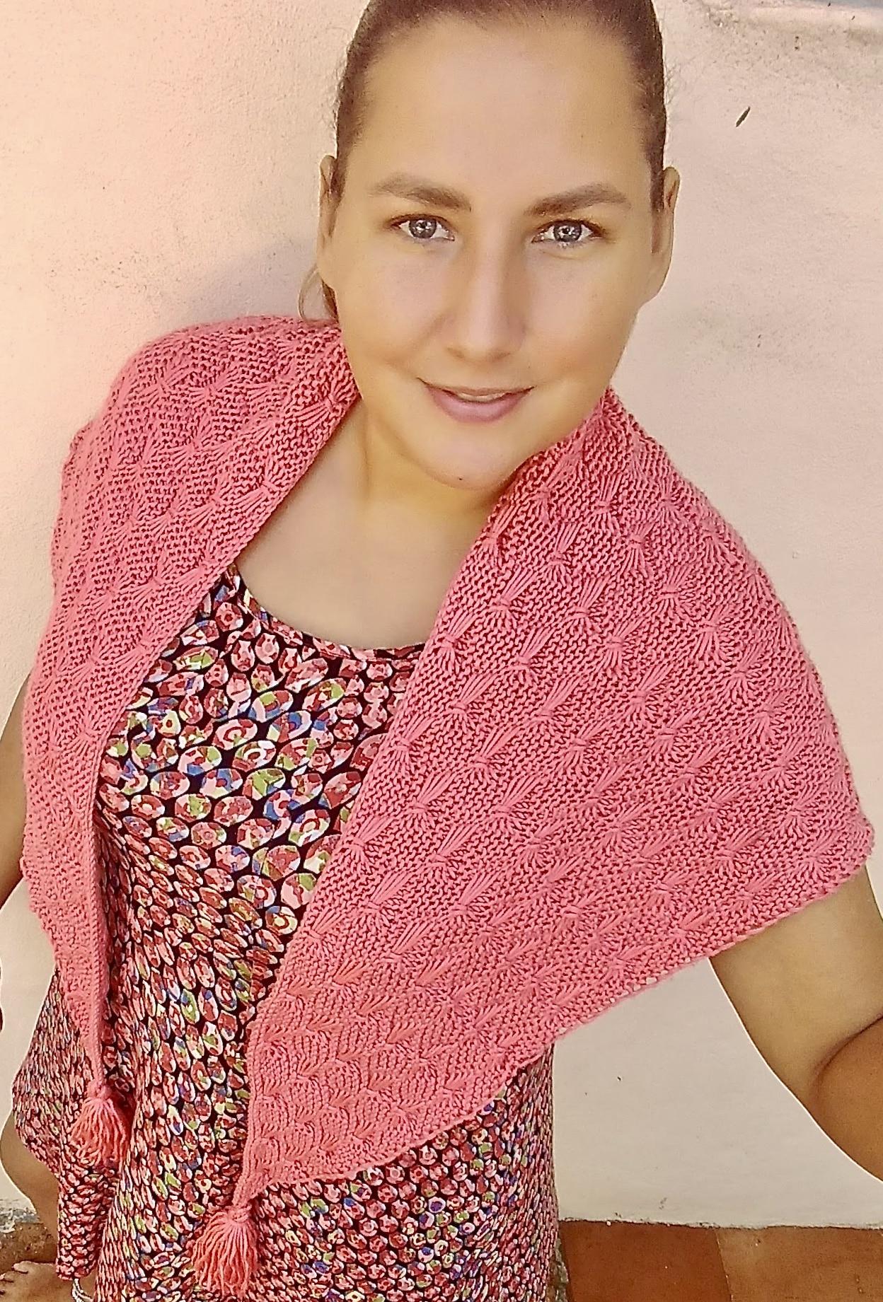 Butterfly Shawl Knitting Pattern