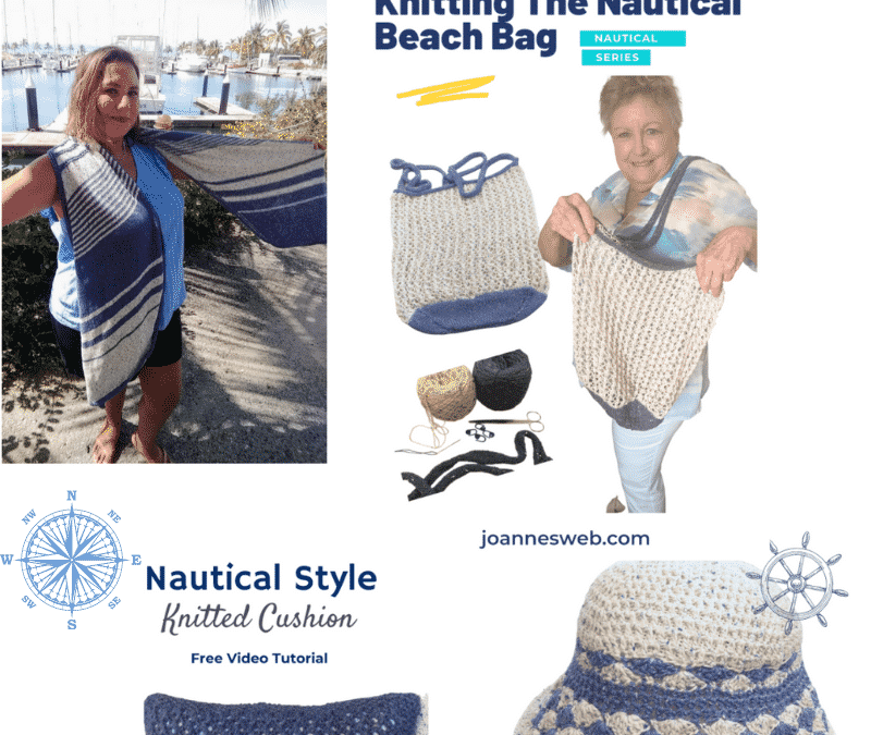 Nautical Themed Knitting and Crochet Patterns