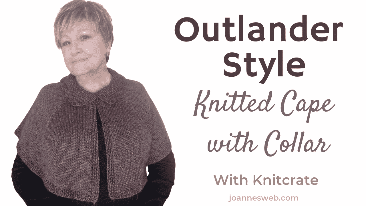 Outlander Style Knitted Cape